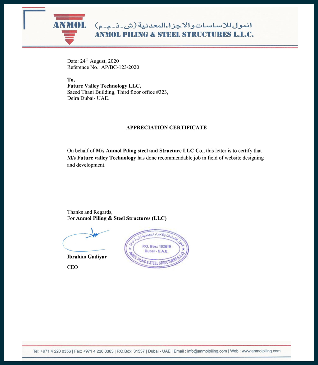 Anmol Piling & Steel Structural LLC