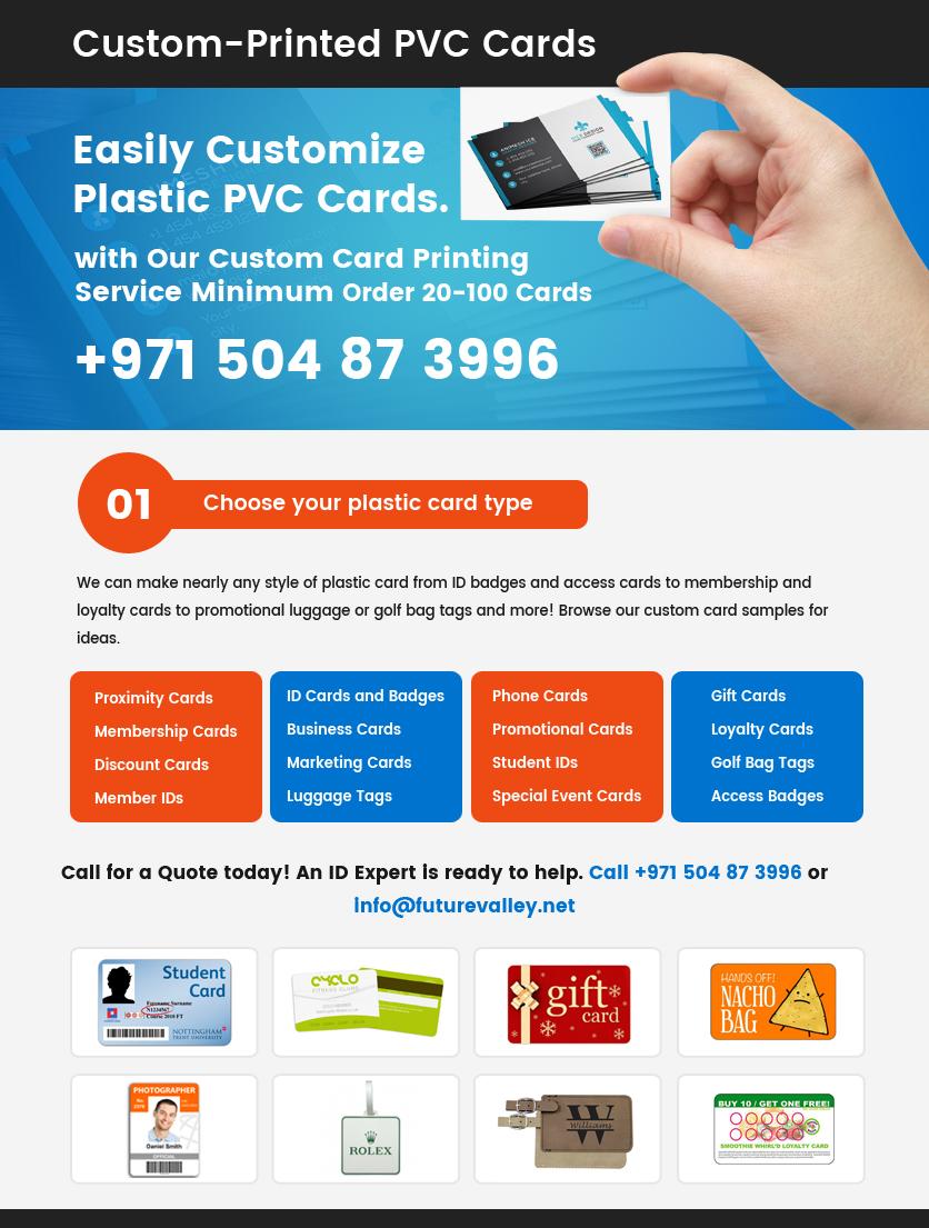 Custom PVC Card Printing