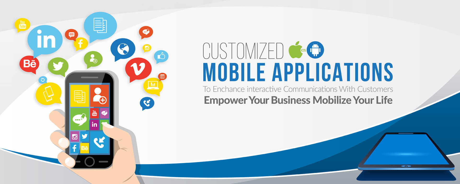 Mobile Application Banner
